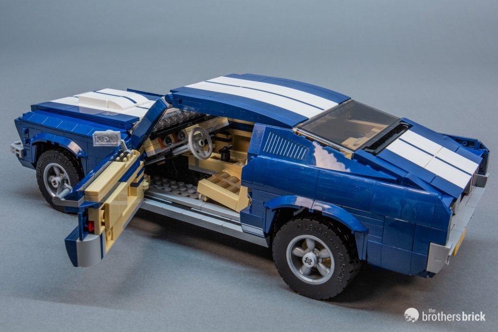 10265 Lego Creator Expert Ford Mustang Review 33 1 The Brothers