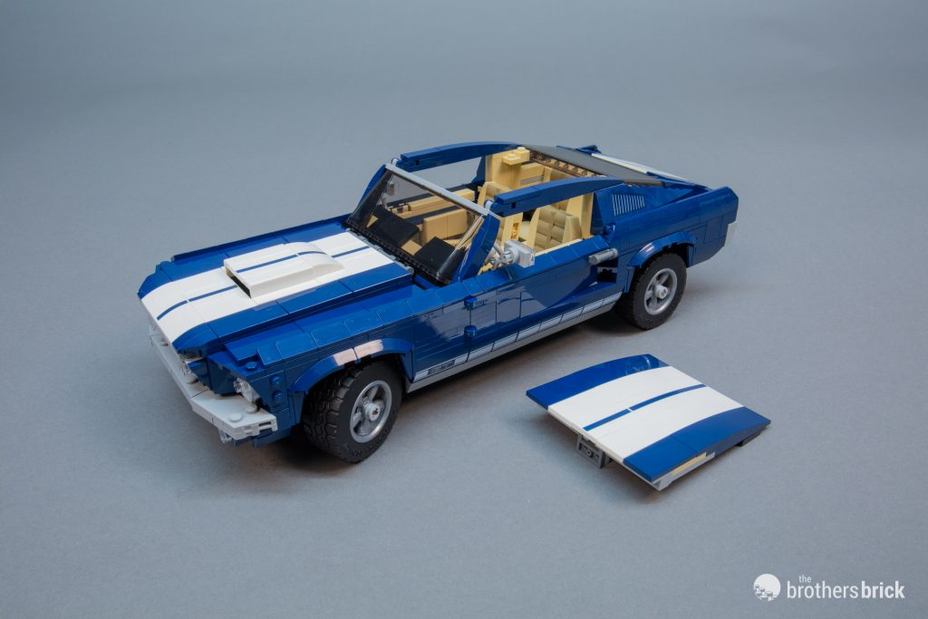 10265 Lego Creator Expert Ford Mustang Review 37 The Brothers