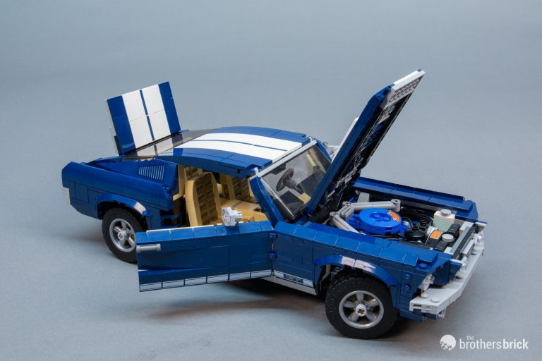 лего форд мустанг