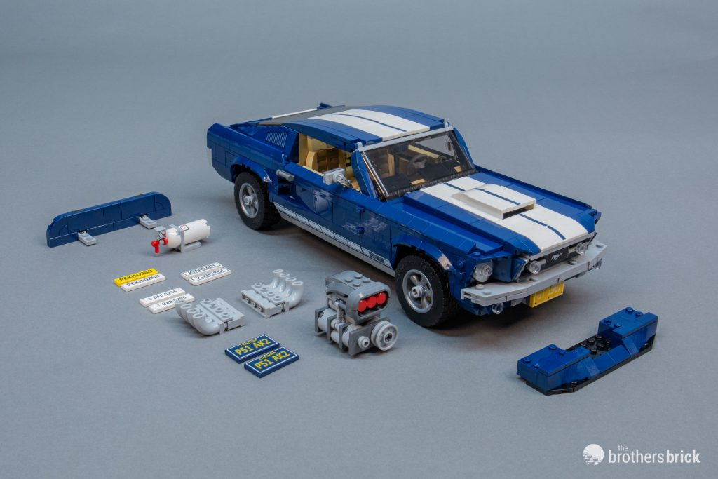 10265 lego creator expert ford mustang review 45 the. Black Bedroom Furniture Sets. Home Design Ideas