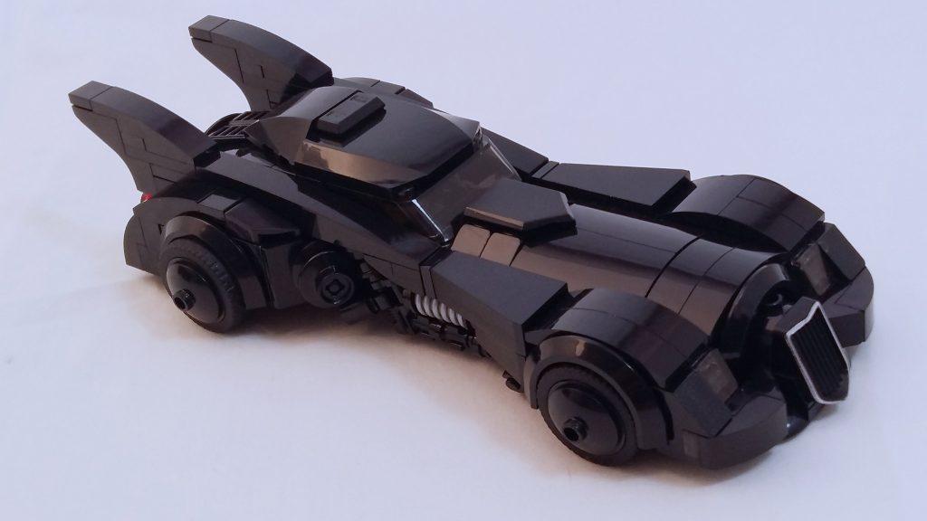 Nostalgic Tim Burton-era Batmobile