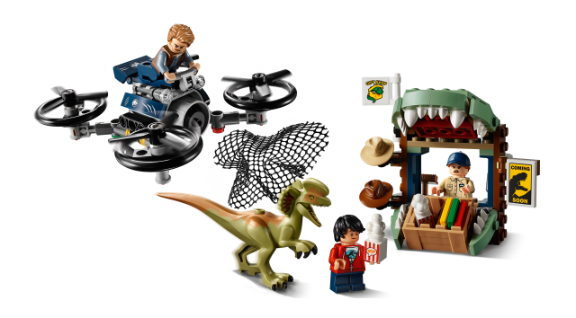 Lego Jurassic World Returns With Four New Sets And A Legend Of Isla Nublar Animated Mini Series News The Brothers Brick The Brothers Brick