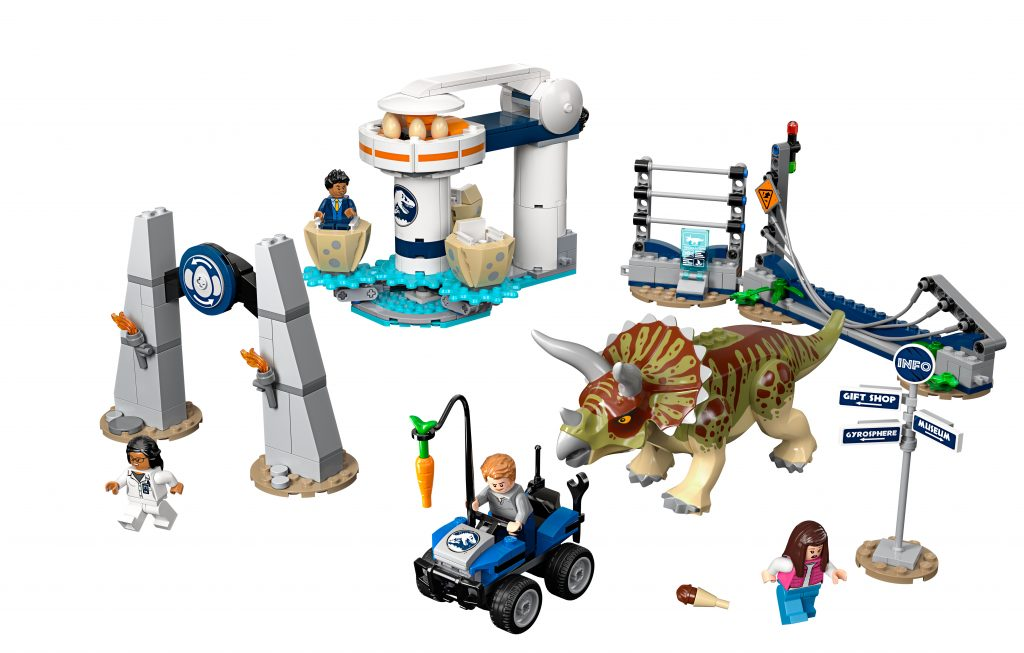 Lego NEW dark bluish gray tranquilizer gun Jurassic Park