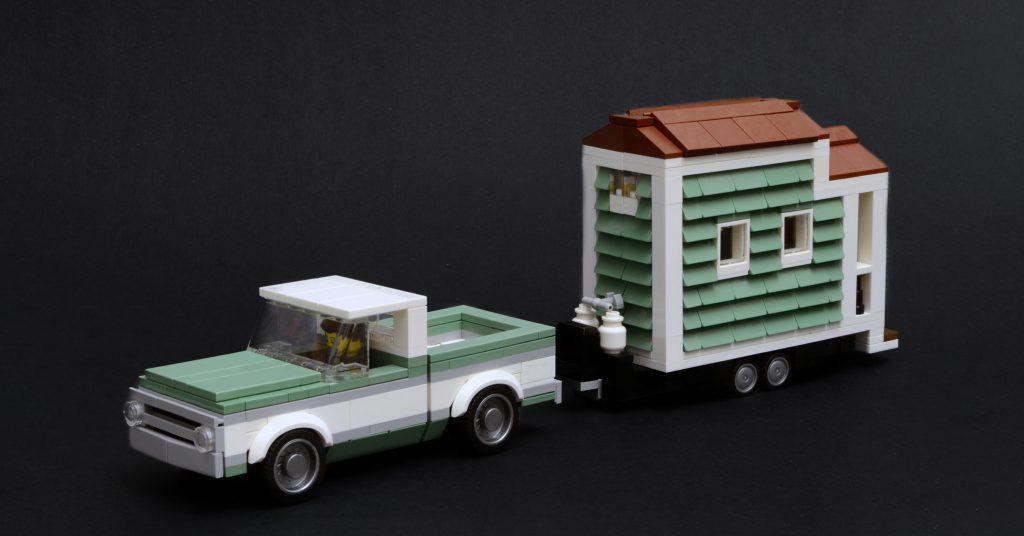 Tiny homes for tiny LEGO people