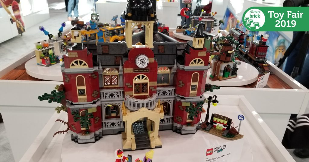 LEGO Hidden Side sets in-person at the 2019 New York Toy Fair