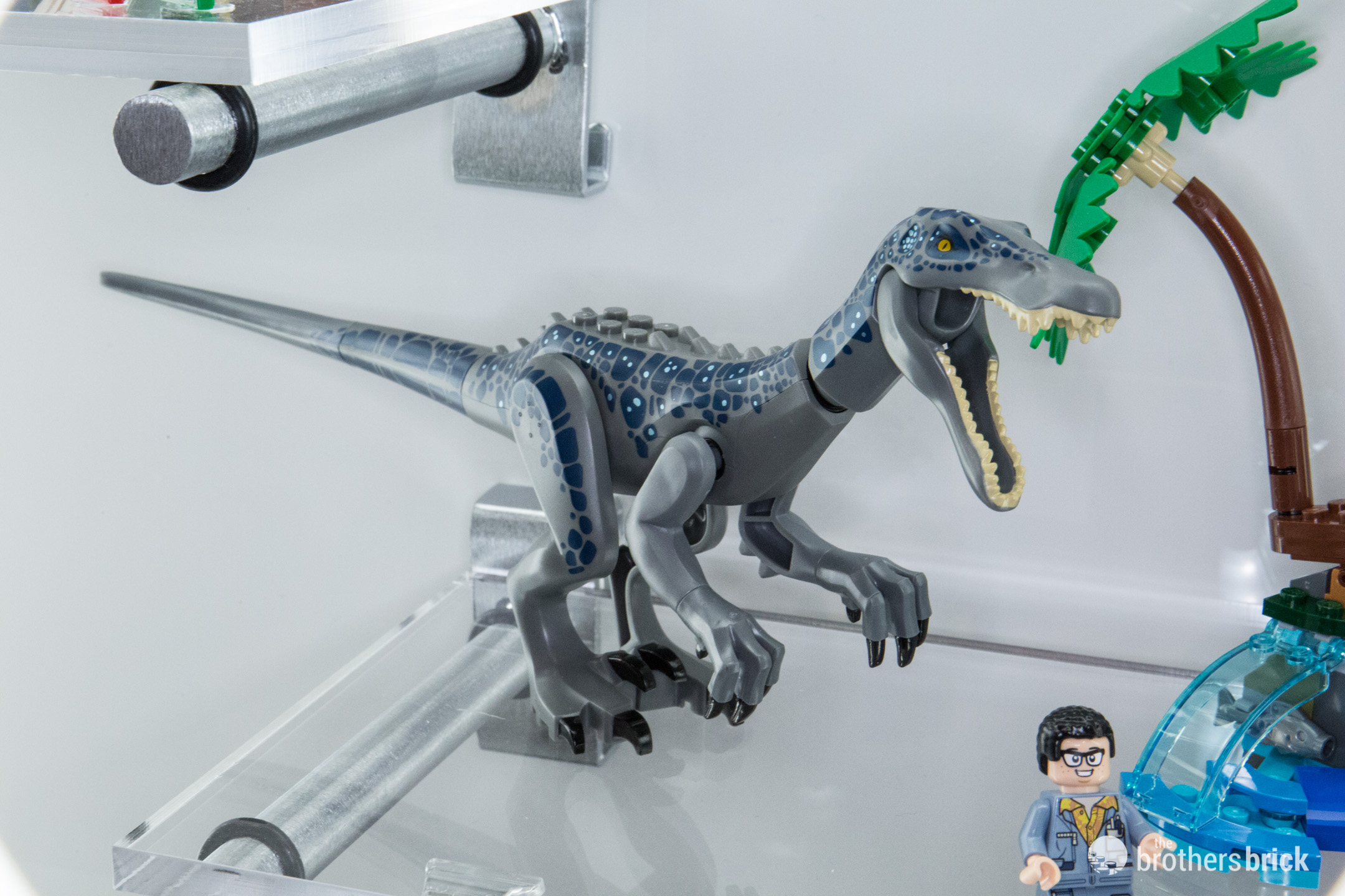LEGO Jurassic World sets in-person at the 2019 New York Toy