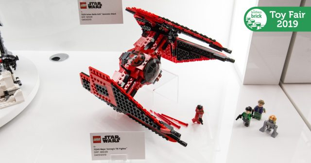 Lego Star Wars Sets From Resistance And More In Person At The 2019