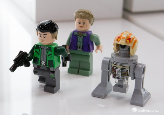LEGO Star Wars 75240 Minifigures