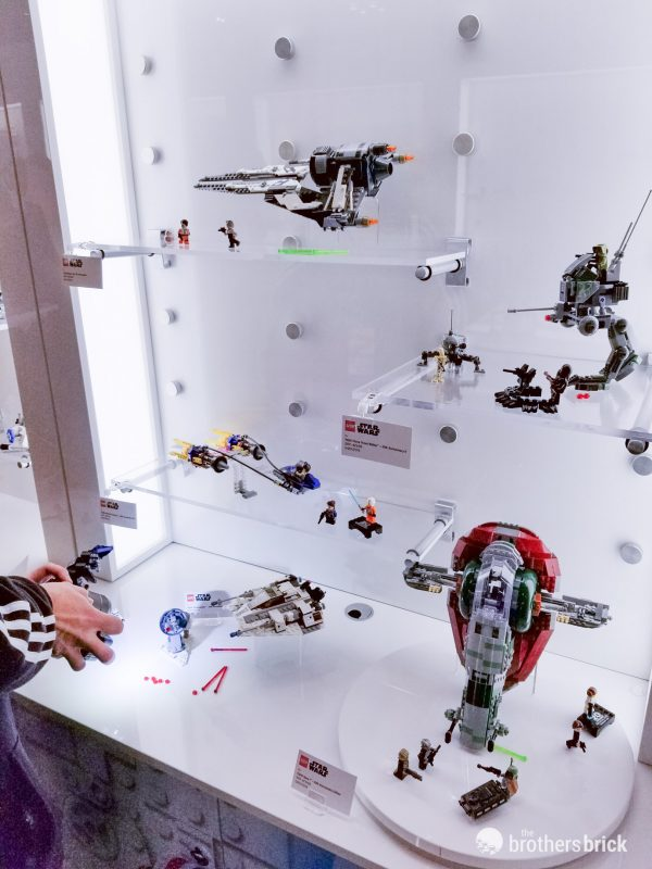 Lego Star Wars 20th Anniversary Sets In Person At The 2019 New York