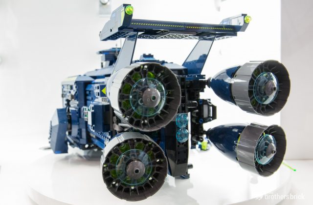 LEGO Movie 2 70839 Rexcelsior engines