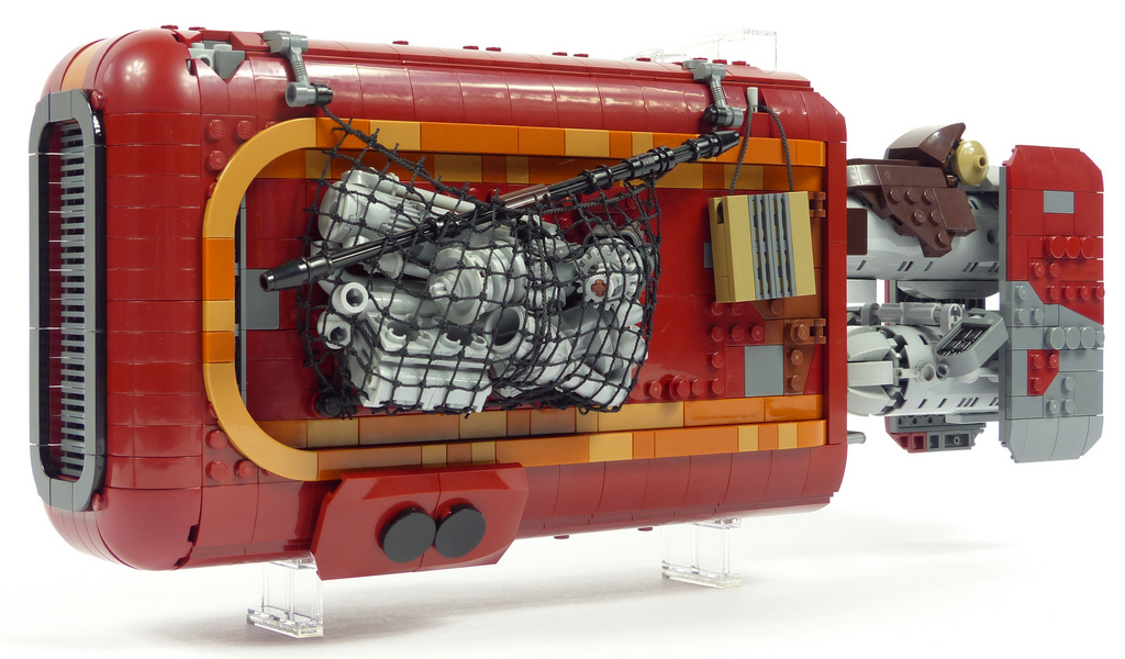 Rey's speeder has never looked better than with this awesome UCS LEGO version