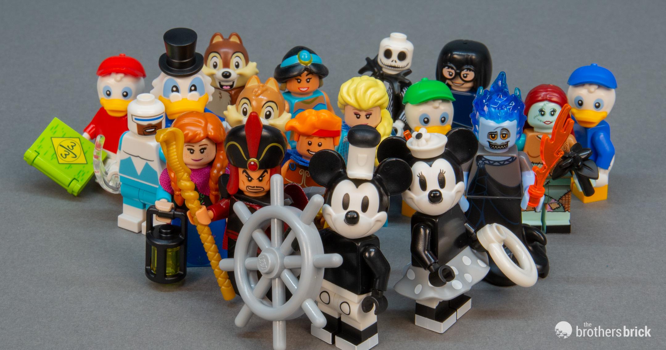 LEGO Collectible Minifigures 71024 Disney Series 2 [Review