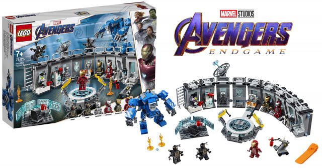 Lego Avengers Endgame 76125 Iron Man Hall Of Armor Set Revealed