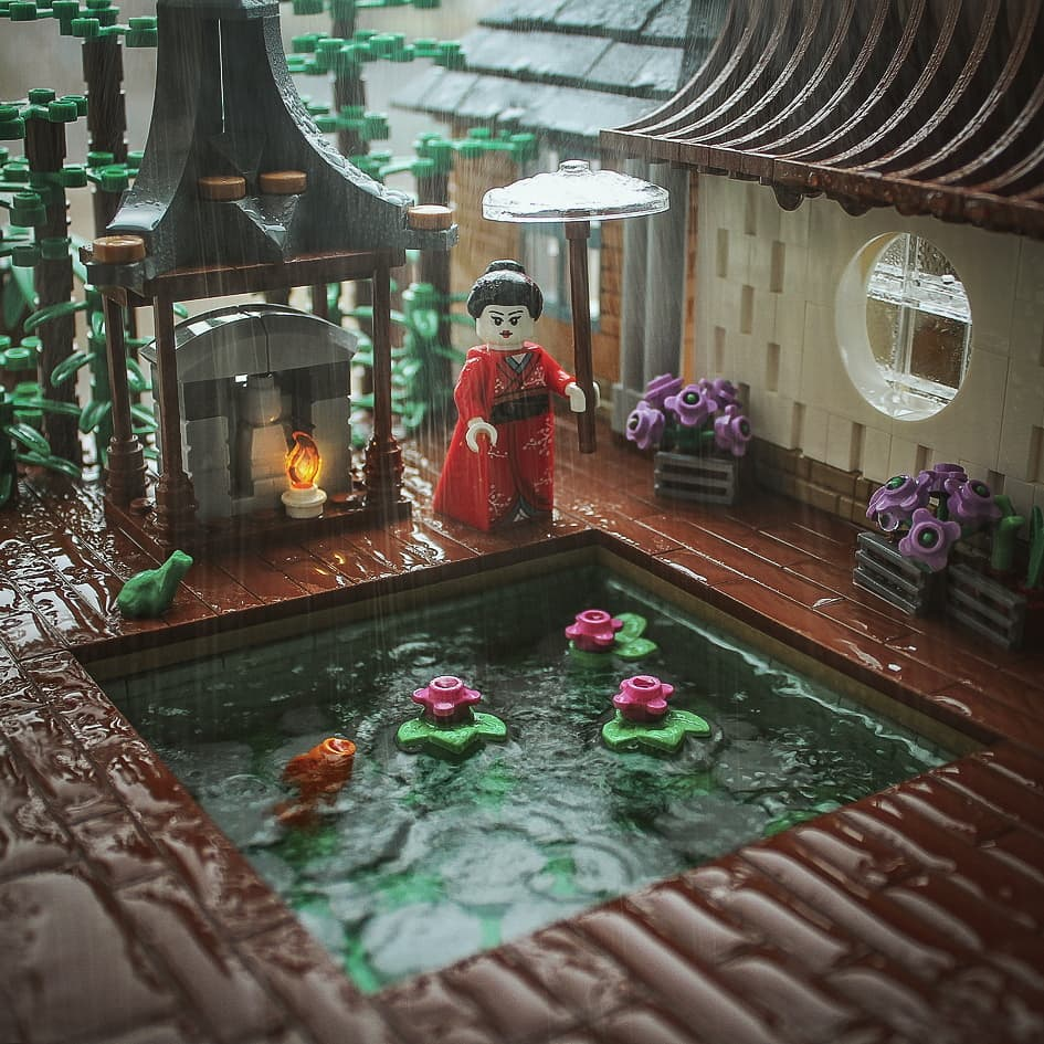 Building good fortune on a rainy day | The Brothers Brick