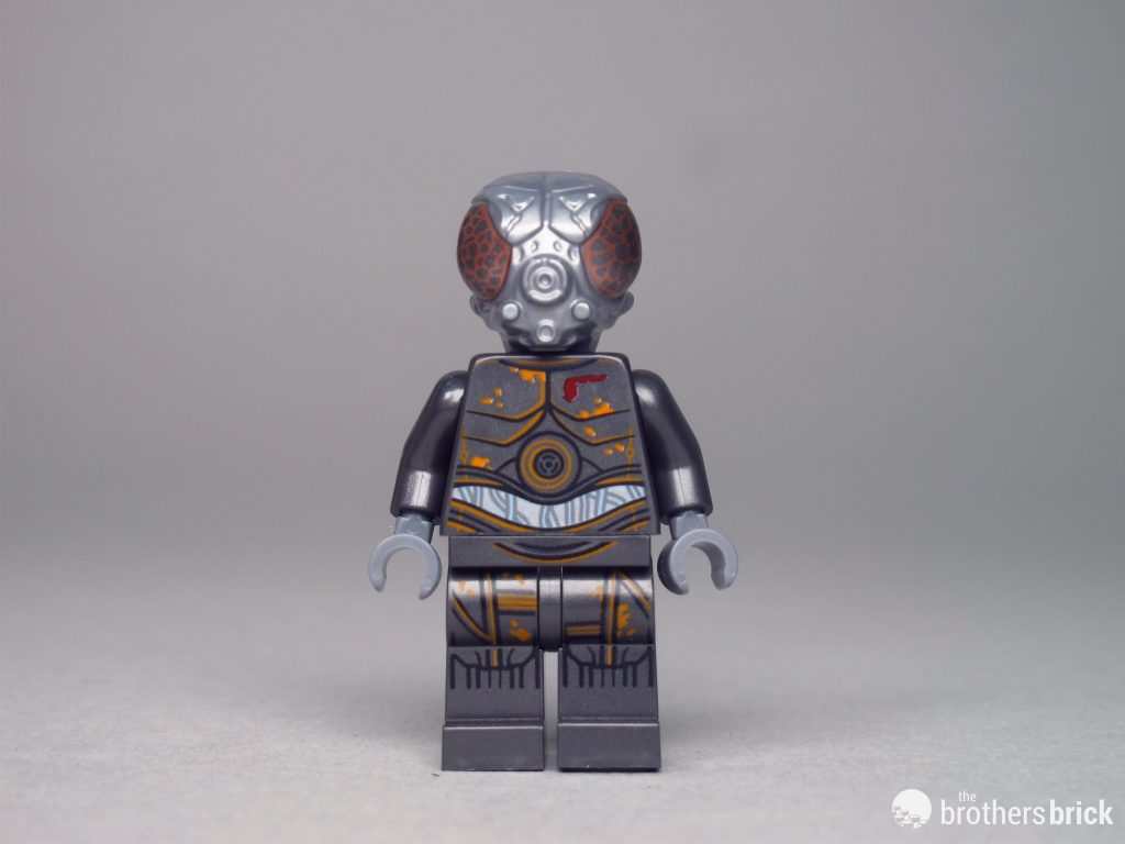 Lego Star Wars Zuckuss Boba Fett /& 4-LOM Bounty Hunters Minifigures 75243