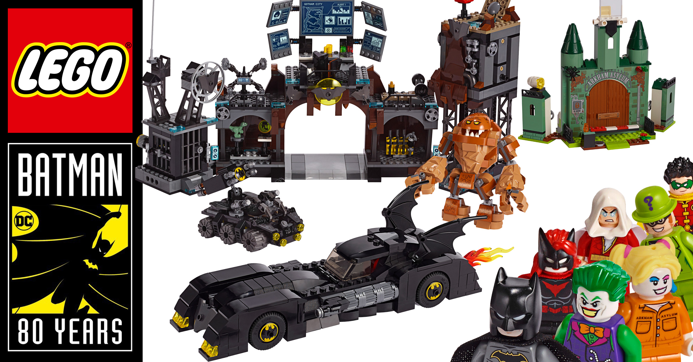 LEGO reveals six new sets to celebrate 80 years of Batman, including