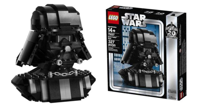 LEGO Star Wars 75227 Darth Vader Bust, a Star Wars Celebration exclusive set is revealed | The Brothers Brick