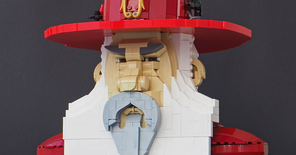 A distinguished wizard of the eighth level   The Brothers Brick
