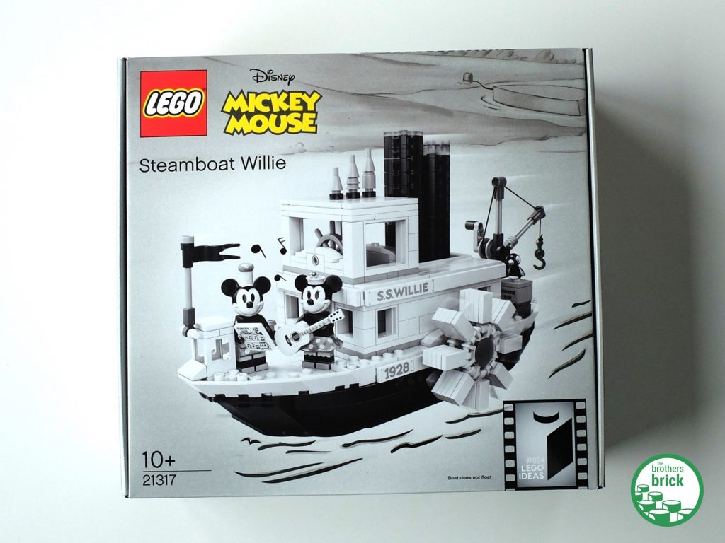 Lego 21317 Steamboat Willie Disney Mickey Mouse Brand New sealed in Mint Box