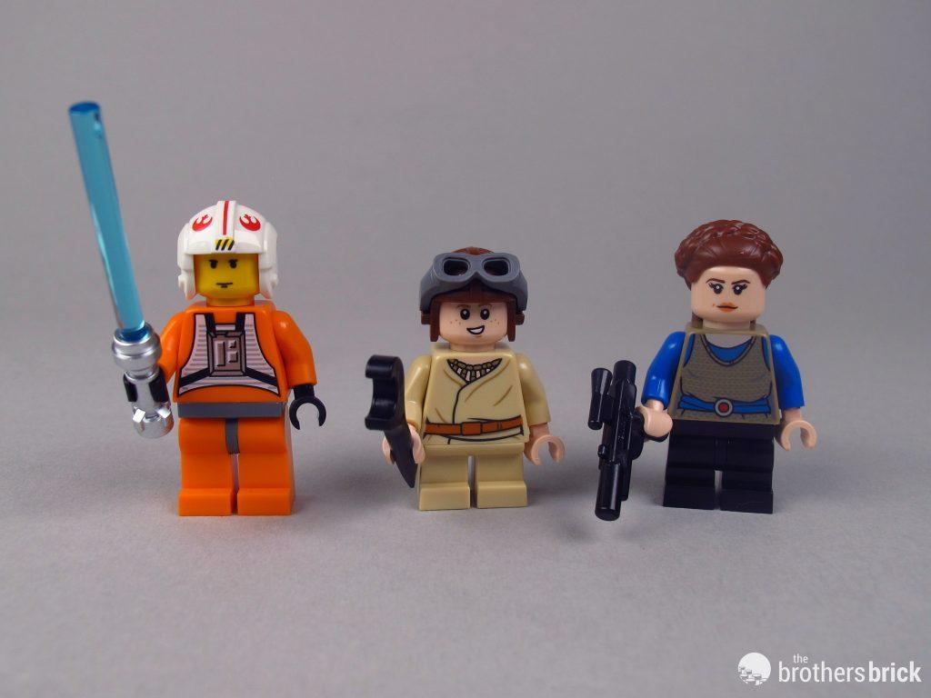 LEGO Star Wars Young Anakin Skywalker minifigure 75258