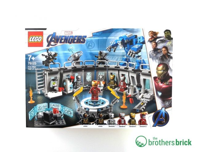 LEGO Avengers 76125 Iron Man Hall Of Armour