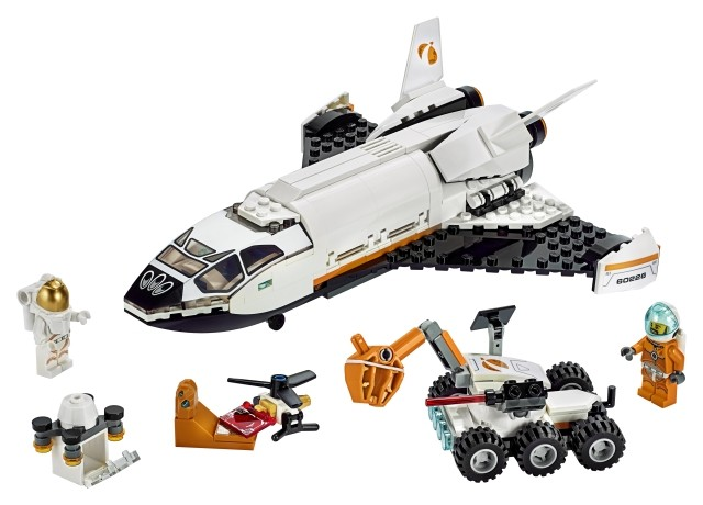 Lego City Space Summer 2019 60226 Mars Research Shuttle 2 The