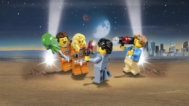 Lego City Space Summer 2019 60230 People Pack Space Research And