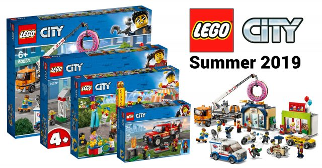 More LEGO City summer 2019 sets revealed including new Fairground