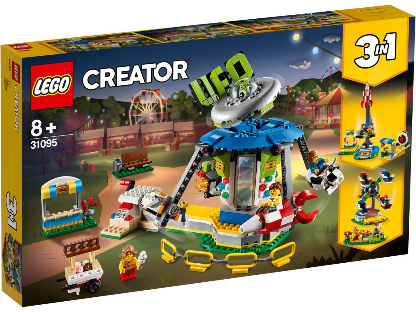 Lego Creator 31095 Carousel Box Front The Brothers Brick The