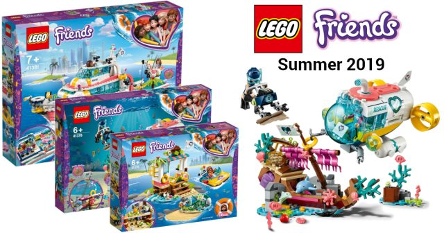 More Lego Friends Summer 2019 Sets Revealed Featuring An Ocean Of