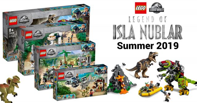 Full Images Of Lego Jurassic World Sets From Legend Of Isla Nublar