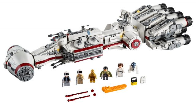 Lego Star Wars Returns To A New Hope With 1 700 Piece 75244 Tantive Iv News The Brothers Brick The Brothers Brick