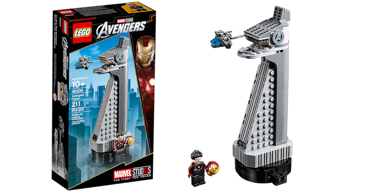 LEGO Marvel Avengers Tower now available for free with ...