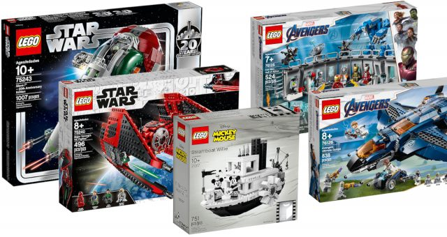 Your Guide To The 17 New Lego Sets For April 2019 Including Star