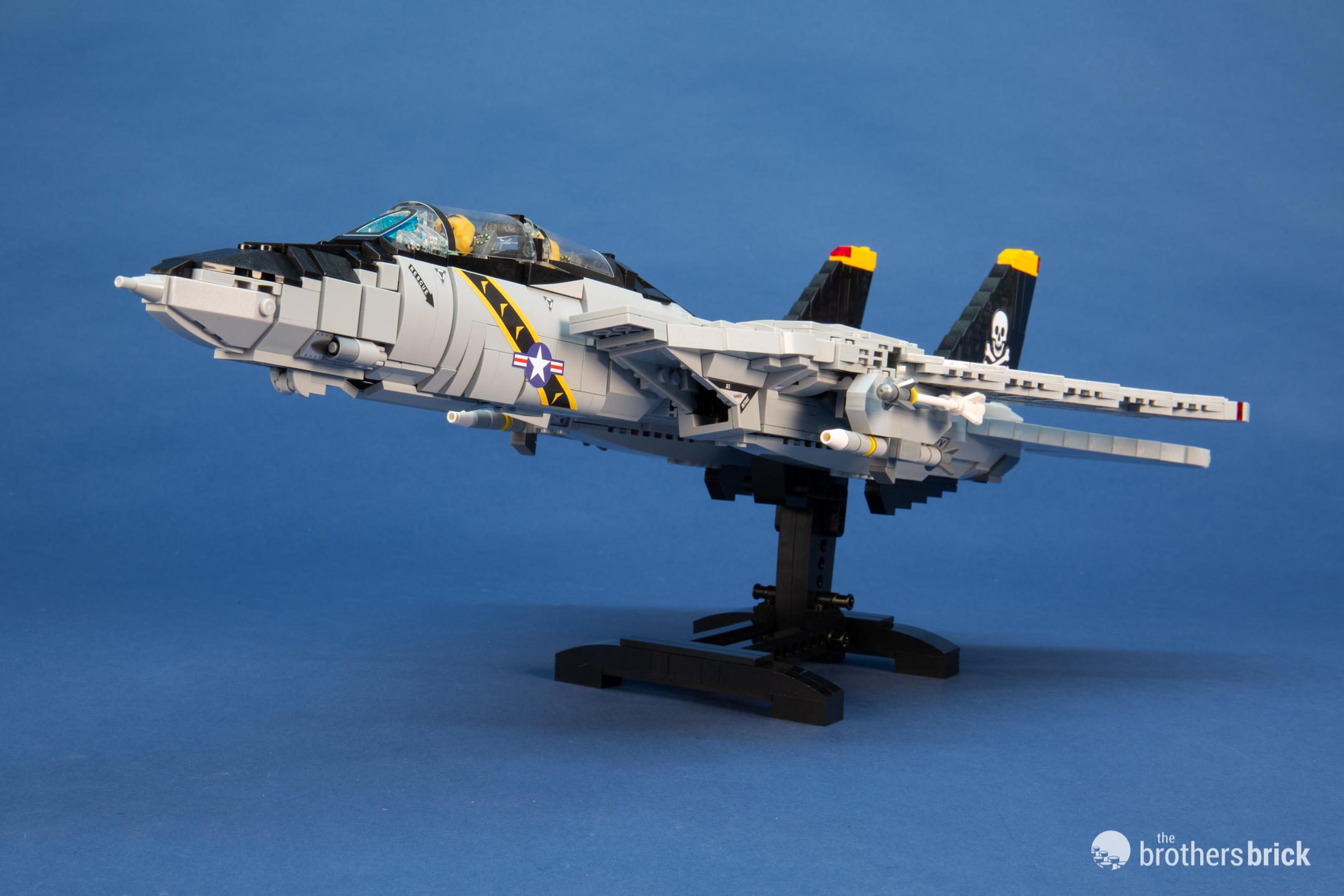 Brickmania 1033 F-14 Tomcat Supersonic Air Superiority