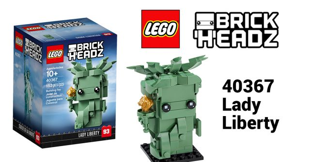 LEGO Brickheadz 40367 LADY LIBERTY Statue of Liberty Brick heads NEW 93