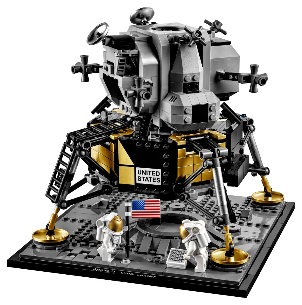 New LEGO Creator NASA Apollo 11 Lunar Lander Building Kit 10266 1087 Pieces