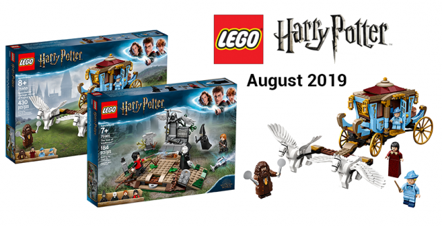 Two New Lego Harry Potter Sets Are Revealed Featuring Scenes From