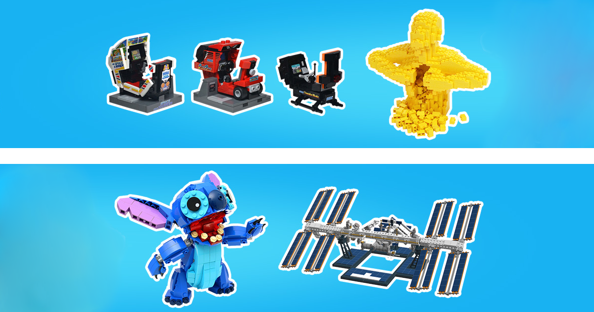 you can choose the next lego ideas set with special 10th