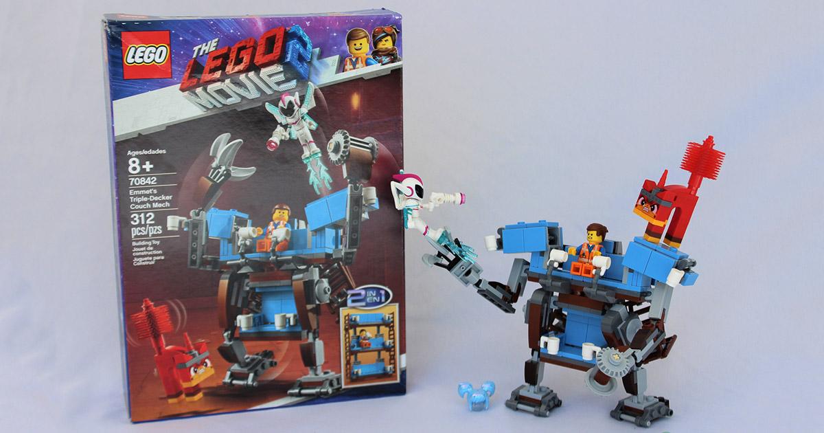 Emmet/'s Triple-Decker Couch Mech READ IN FULL !! LEGO 70842 LEGO Movie 2