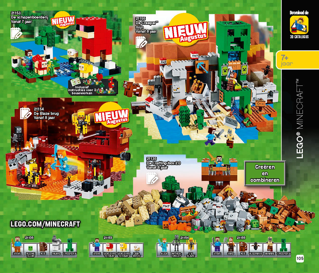 LEGO Catalog 2HY 2019 Minecraft | The Brothers Brick | The Brothers