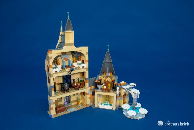 Lego Harry Potter Attends The Yule Ball With 75948 Hogwarts Clock