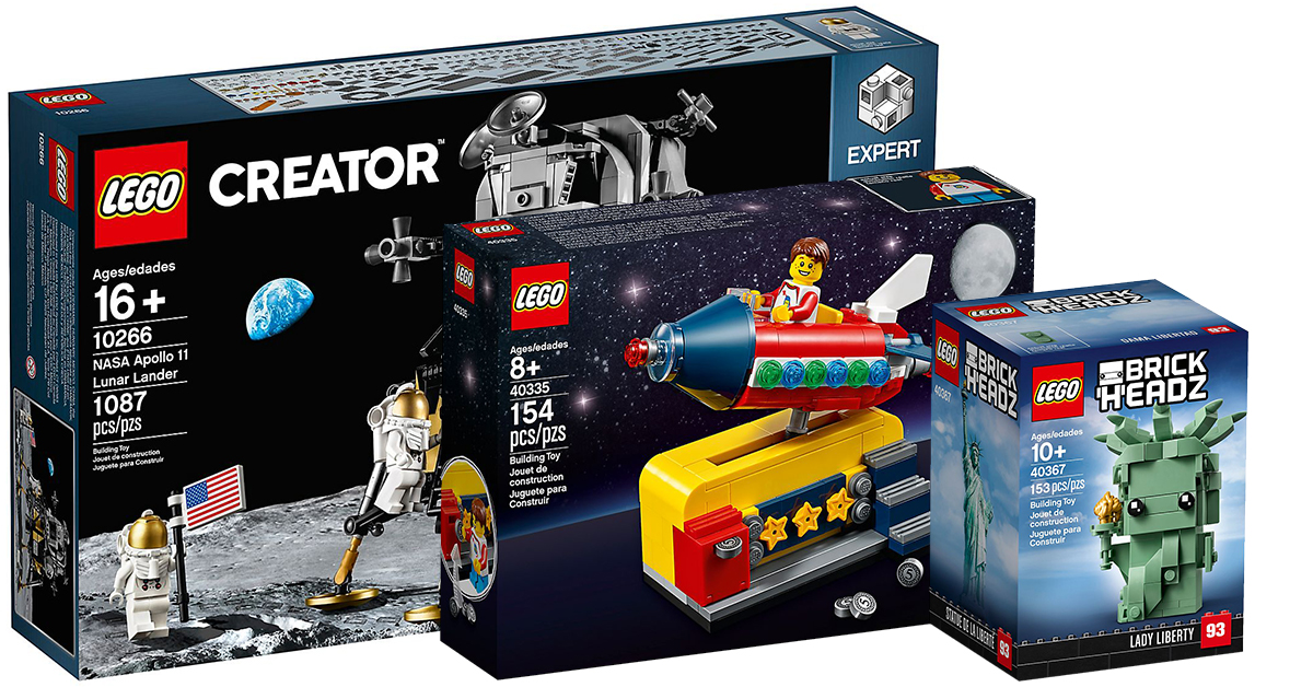 LEGO 40335 Lego Ideas Space Rocket Ride Exclusive Set BRAND NEW
