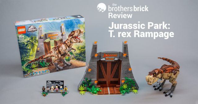 LEGO Jurassic World Archives | The Brothers Brick | The
