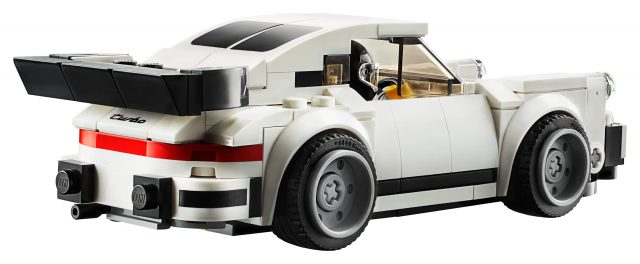 LEGO® Speed Champions White Porsche 911 RSR Driver Minifigure