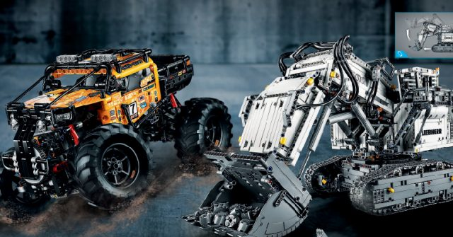 LEGO reveals 8 new sets from Speed Champions, TLM2, and Technic, including 42100 Liebherr R 9800 mining excavator [News]