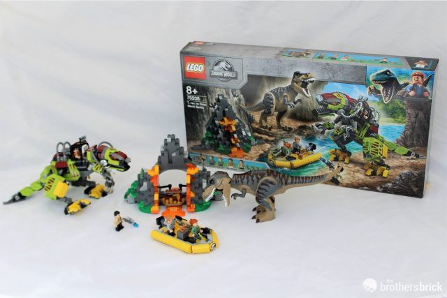 Discovering LEGO set 75938 Jurassic World T. Rex vs Dino-Mech Battle [Review]