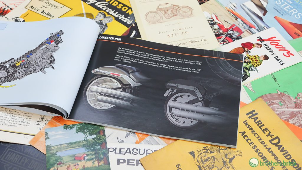 Harley Davidson: Going Full Throttle With LEGO Creator Expert 10269 Harley