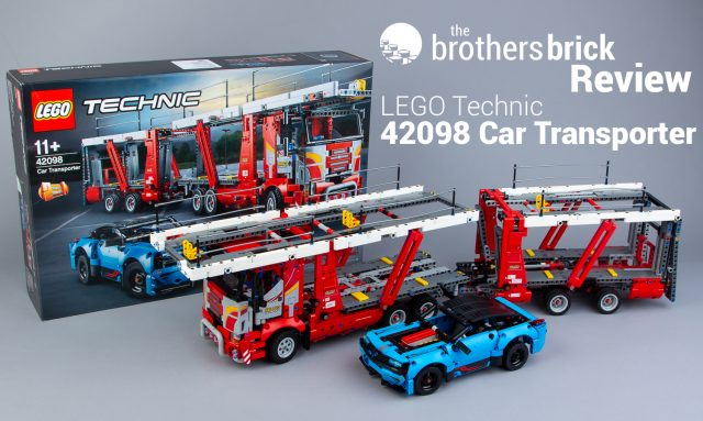LEGO Technic 42098 Car Transporter [Review] | The Brothers Brick