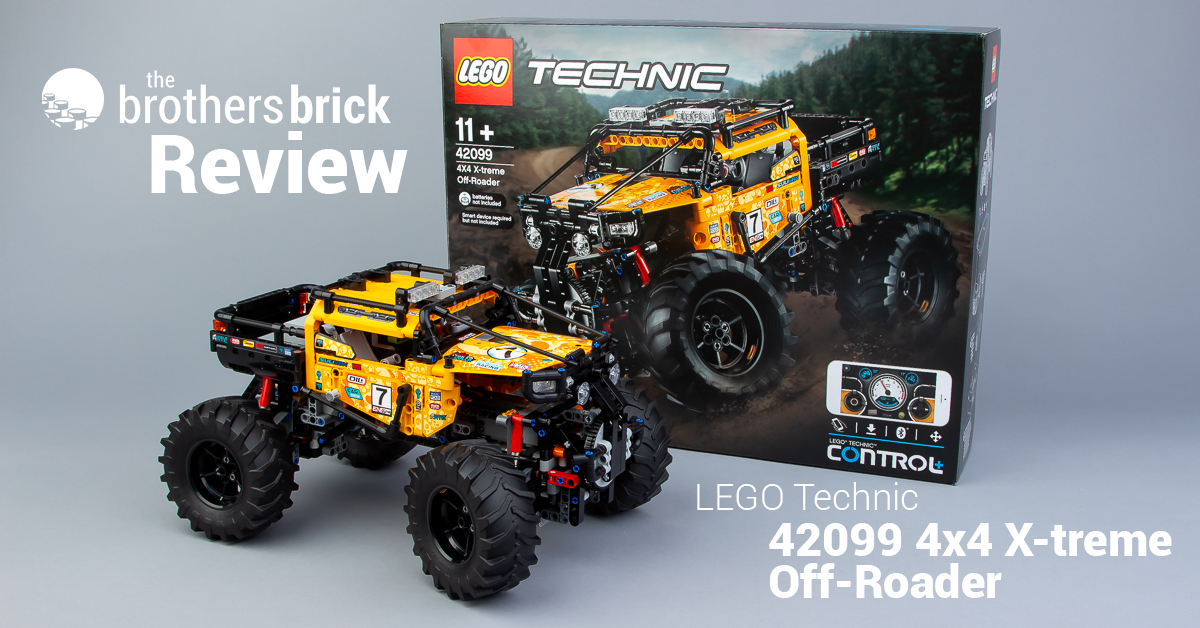 A Little Dirt Never Hurt Lego Technic 42099 4x4 X Treme Off Roader Review The Brothers Brick The Brothers Brick